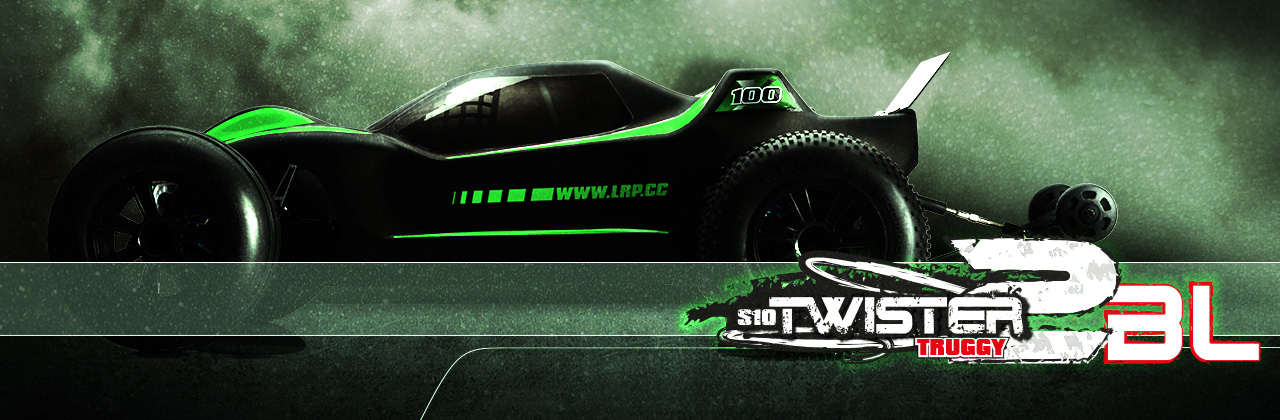 LRP S10 Twister 2 Extreme-100 Brushless Truggy 2.4Ghz RTR 100km//h 120512